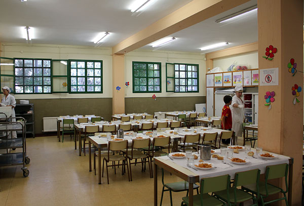 Comedor escolar guarder a cp san juan de la cadena for Plan de comedor escolar