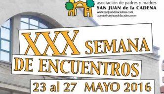 Programa de la XXX Semana de encuentros