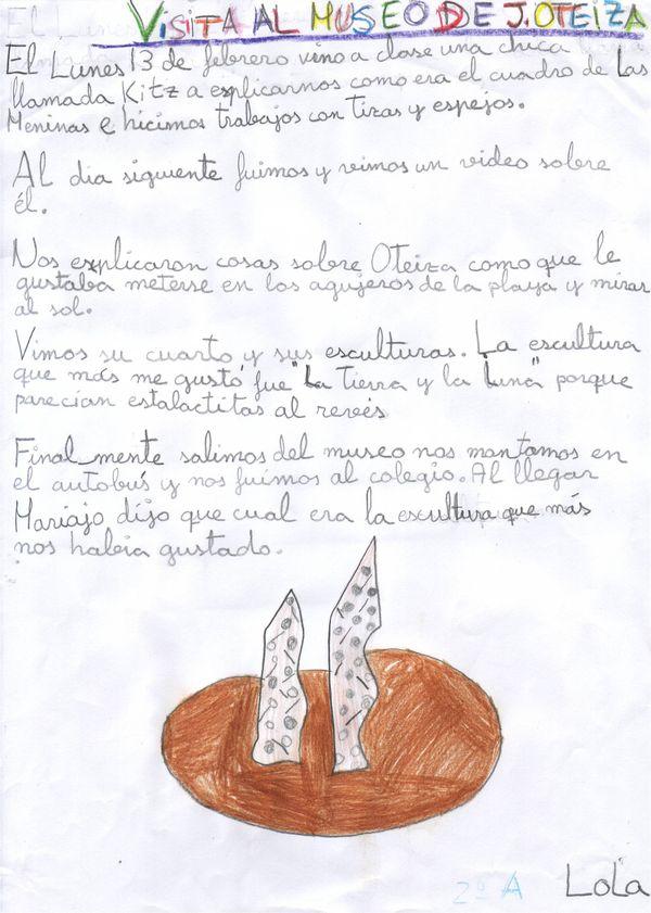 Visita al museo de Jorge Oteiza