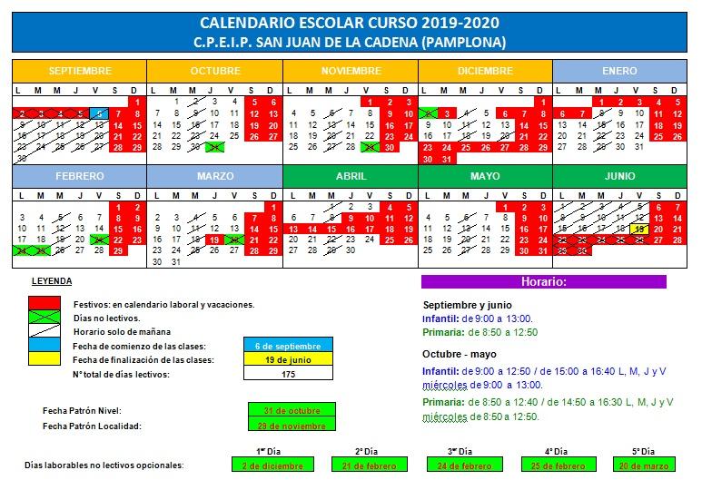 Calendario Verano 2020.Paginas De Archivo De Recomendaciones Verano Cp San Juan De La